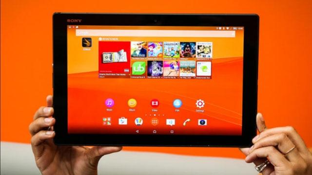 Karşınızda Sony Xperia Z4 Tablet: Küçük, Narin, İnce ve Güçlü