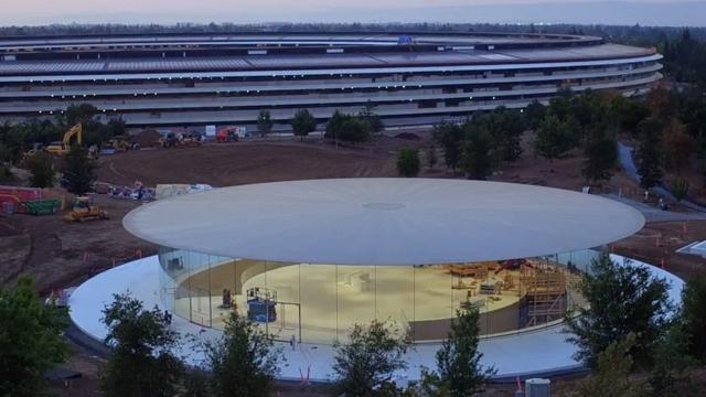 Steve Jobs Salonu, 12 Eylül Apple Etkinliği için Hızla Hazırlanıyor