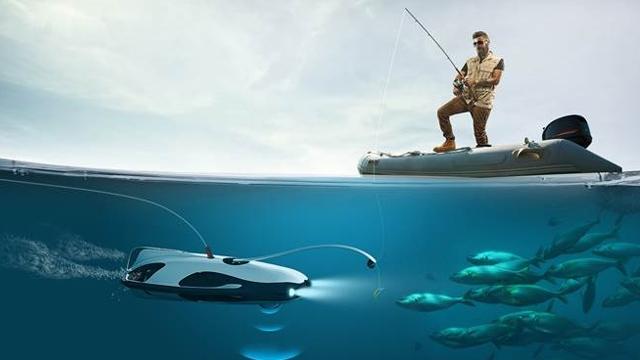 Drone'la Balık Tutmak da Artık Mümkün!
