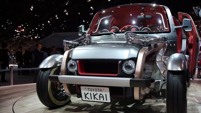 Toyota Konsept Araba Tasarımında Ezber Bozdu, İşte En Radikal Konsept: Toyota Kikai
