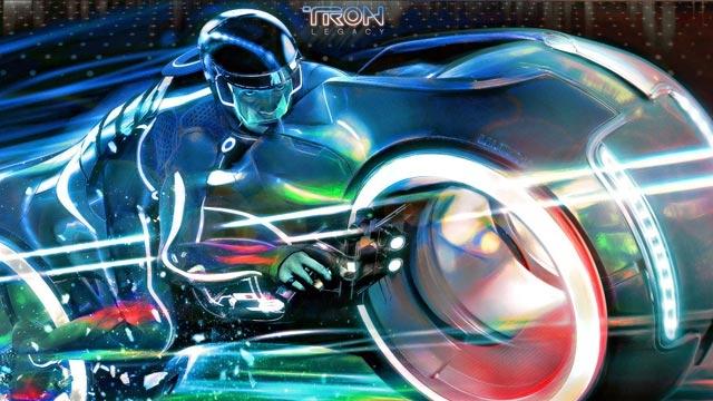 Tam Fonksiyonel TRON Motosikleti Açık Artırmada