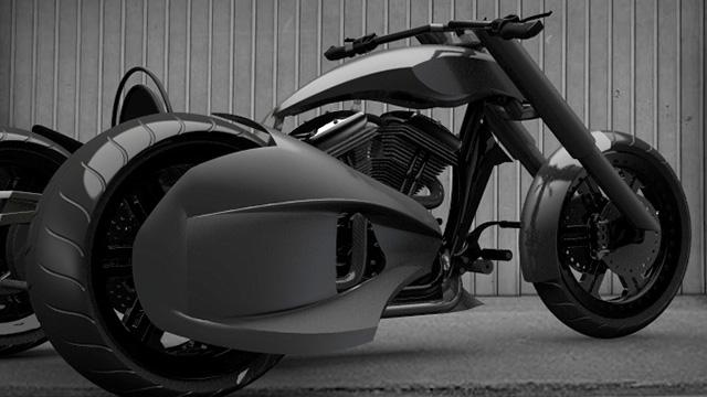 Tüm Motosikletleri Kıskandıracak Tasarım Bir Türk'ten Geldi