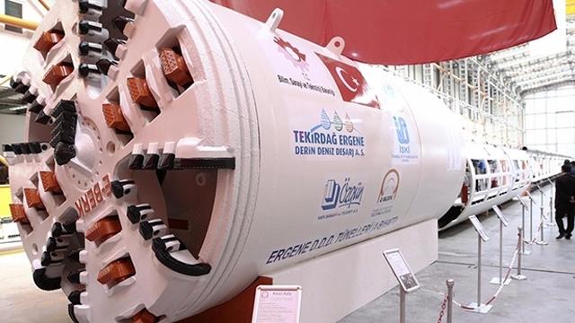 Yerli Malı Dev Tünel Kazma Makinesi, İstanbul'u Delik Deşik Edecek