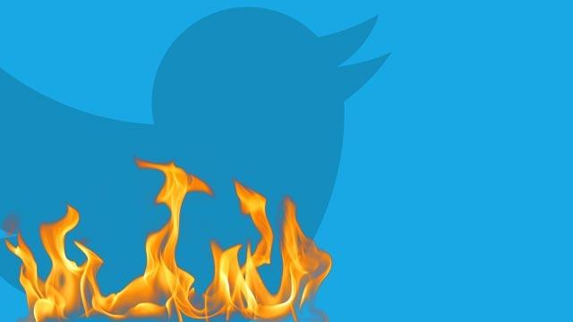 Amerika Twitter'a Ateş Püskürüyor