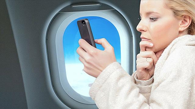 Uçakta Cep Telefonu Kullanmaya İzin Çıktı