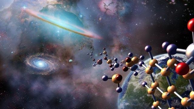 Uzayda Yaşamın Temel Taşları Bulundu