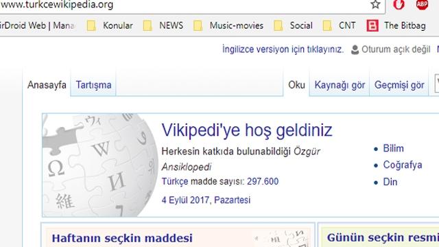 Yasaklı Wikipedia Korsan Olarak Yayına Girdi