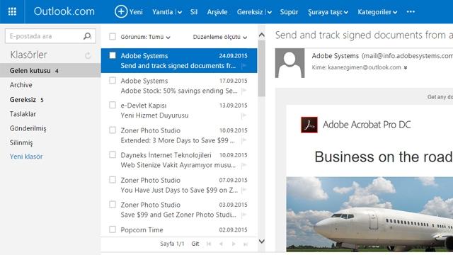 Microsoft Outlook Web Üzerinde Beğen ve Etiket Özellikleriyle Güncelleniyor