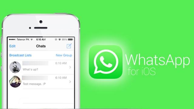 WhatsApp iOS Üzerinde Güncellendi, İşte Yeni Özellikleri