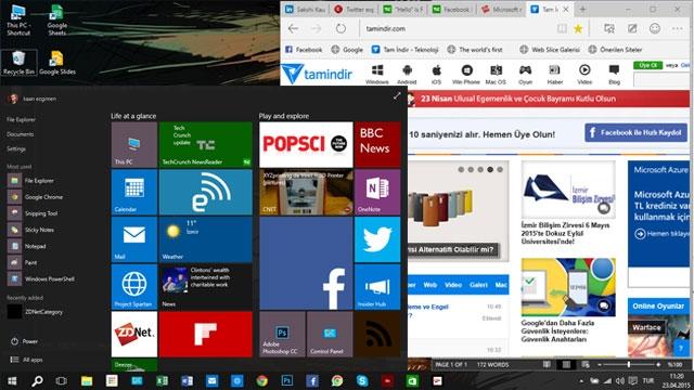 Windows 10'dan En Son Teknik Ön İzleme Geldi