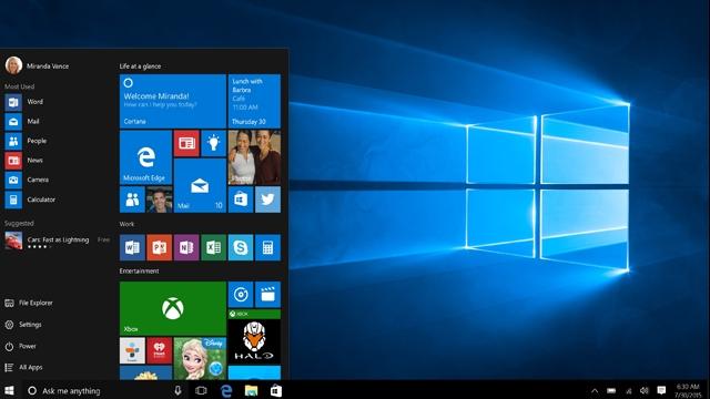 Geleneksel Windows 10 Salı Günü Kümülatif Güncellemesi Yarın Geliyor