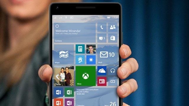Windows 10 Teknik Ön İzleme 10051 Telefon Güncellemeleri Başladı