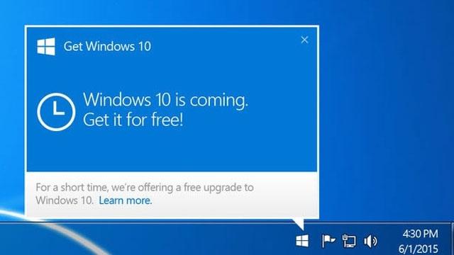 Microsoft'tan Windows 10'u Ömür Boyu Bedava Güncelleme Müjdesi