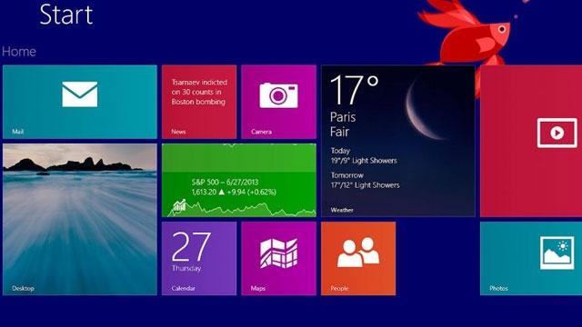 İlginç Gelişme, Windows 8.1 Eylül Ayında Bir Güncelleme Alacak