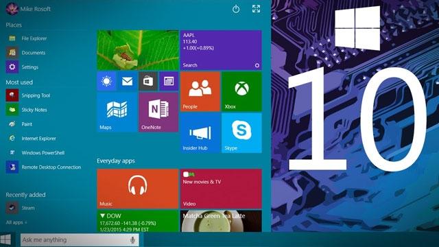 Windows 10'un Son Teknik Önizleme Sürümü 10240 mi Olacak?