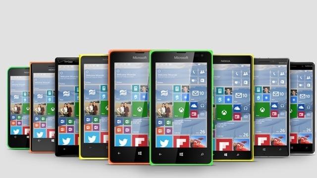 Windows 10 Mobil Teknik Deneme Sürümü Bazı Telefonlar İçin Hazır