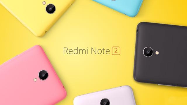 160 Dolarlık Dev, Xiaomi Redmi Note 2 Resmen Duyuruldu