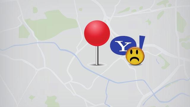 Yahoo Maps Servisini de  Kapatıyor