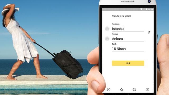 Yandex.Seyahat Yeni Bir Uygulamasını Hizmete Sokuyor