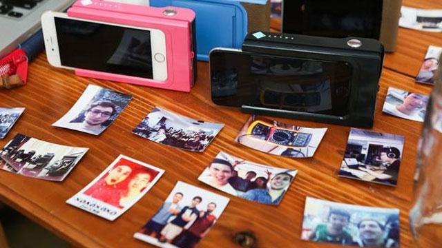 Anında Fotoğraf Çıktısı Alabilen Telefon Kabı