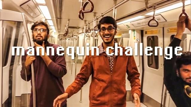 Mannequin Challange Çılgınlığına Bir Yenisi de İstanbul Metro'dan Geldi