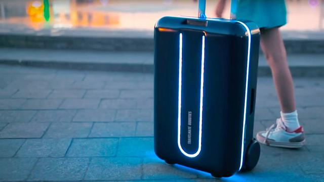 Robot Bavullarla Yük Taşıma Derdine Son!