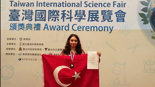 Türk Lise Öğrencisinin Teknoloji Projesi Tayvan'da İkinci Oldu