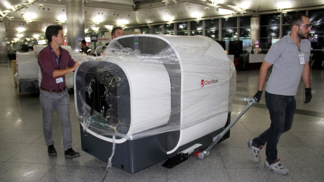 Atatürk Havalimanı'nda Tomografili Güvenlik Devri