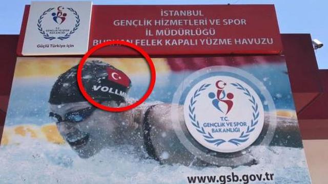 Bakanlık Amerikalı Yüzücüyü Photoshopla Milli Takıma Transfer Etti