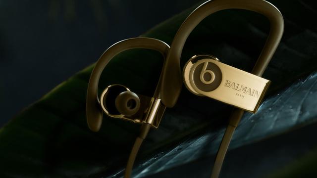 Apple'ın 600 Dolarlık Beats Kulaklıkları, Balmain Paris İmzası Taşıyor