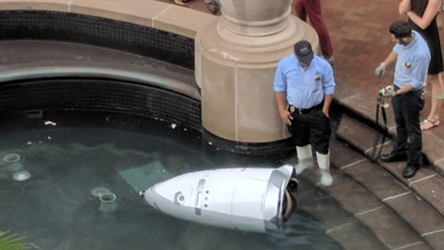 Bir Güvenlik Robotu Ölü Bulundu, Robotun İntihar Ettiğinden Şüpheleniliyor