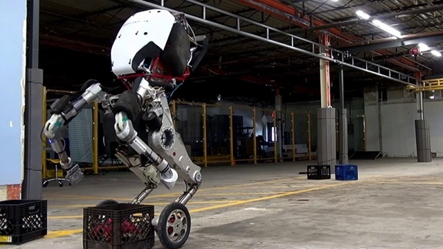 Boston Dynamics Yeni Robotu Handle'ı Tanıttı