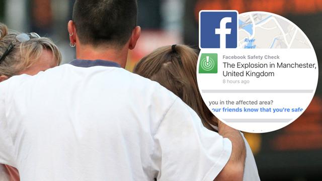 Facebook, Manchester Patlamasından Sonra Güvenlik Kontrolü Başlattı