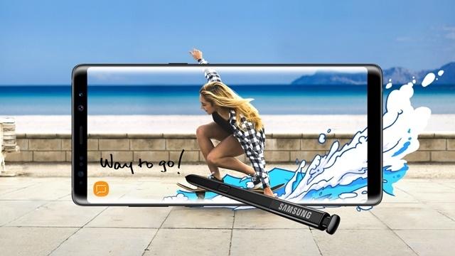 Galaxy Note 8, 42 Ülkede Raflara Yerleşti