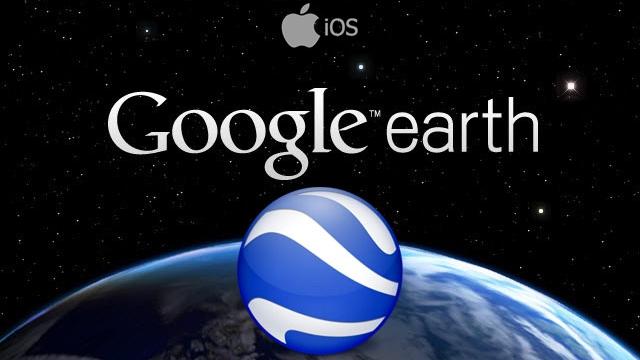 Google Earth, Yenilenen Versiyonu ile Sonunda iOS'ta