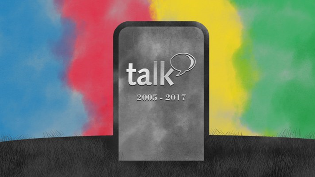 Google Talk Resmen Tarih Oluyor