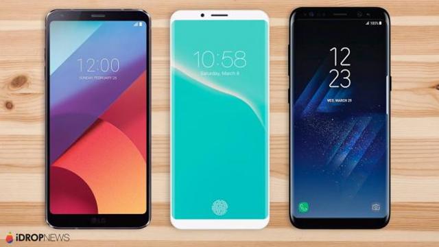 Yeni iPone 8 Uçtan Uca Ekran Olacak