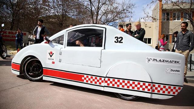 En Yerli Elektrikli Araba 'İsimsiz Kahraman' Oldu
