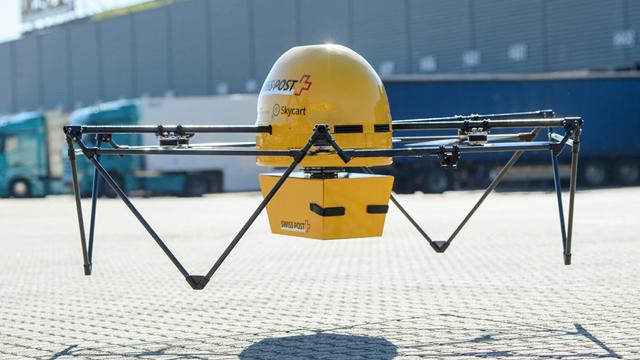 İsviçre'de Laboratuvar Örneklerini Drone'lar Taşıyacak