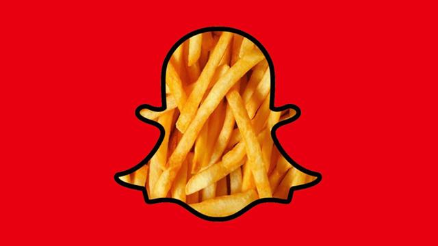 McDonald's 250 Bin Kişiyi Snapchat Üzerinden İşe Alacak
