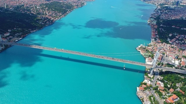 NASA, İstanbul Boğazı'nda Değişen Su Renginin Sırrını Açıkladı