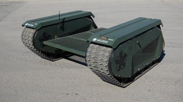 ASELSAN'dan İlk Tam Modüler İnsansız Savaş Aracına Büyük Katkı