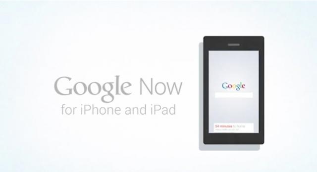 Google Now iOS'a Geliyor