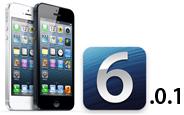Apple iOS 6.0.1'i Yayınladı