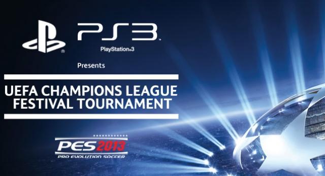 PES 2013 UEFA Şampiyonlar Ligi Turnuvası Başlıyor