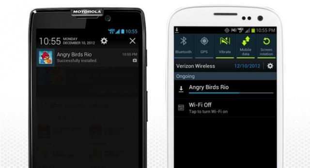 Motorola, Samsung'a Kafa Tuttu