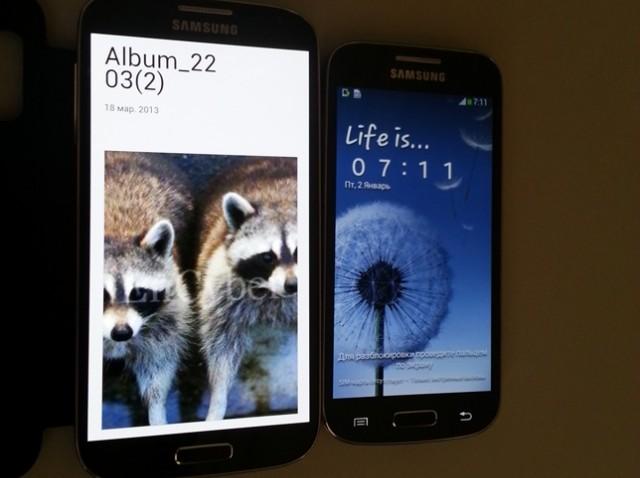 Samsung Galaxy S4 Mini Göründü