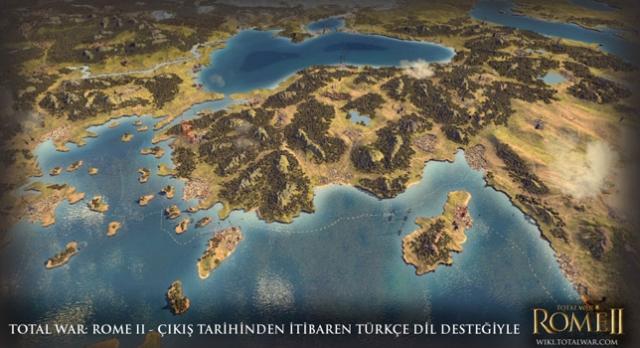 Total War: Rome 2 Resmen Türkçe