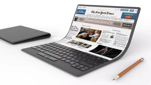 Lenovo'nun İnanılmaz Laptop Tasarımı