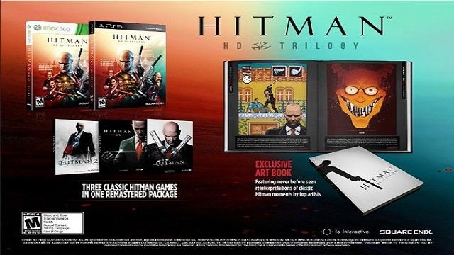 Hitman HD Trilogy Paketi Geliyor